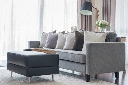 Sofà grigi, sceglierne di splendidi per arredare il salotto