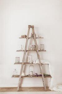 Riciclare delle scale di legno: 3 idee semplici