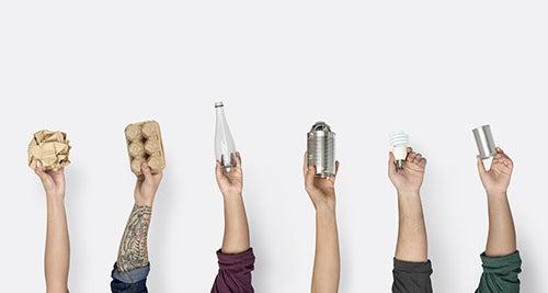 Come risparmiare soldi riciclando oggetti di uso comune