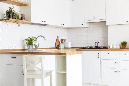 Cucine a forma di U per guadagnare spazio dentro casa