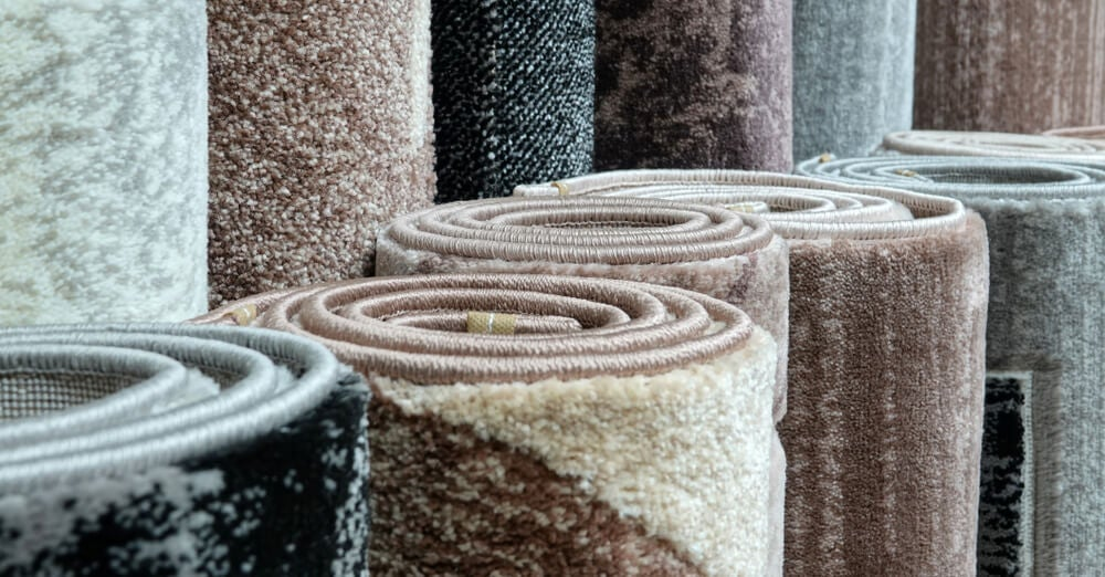 tappeti di vario colore