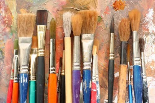 Pennelli per dipingere