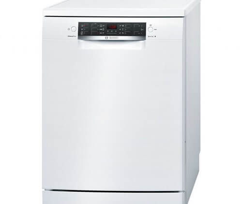 Una lavastoviglie Bosh bianca