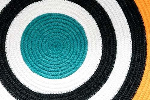 Disegno circolare di tappeto