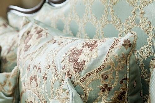 Cuscino in stile barocco