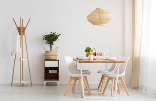 Idee per decorare la sala da pranzo in stile moderno