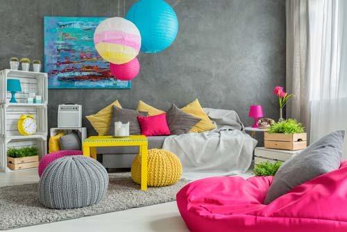 Trucchi e consigli per avere una casa multicolore