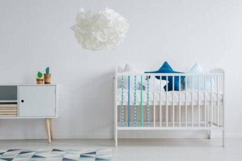 Camerette per bambini in stile nordico