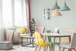 4 colori ideali per rinnovare la sala da pranzo arrediamo for Colori per la sala