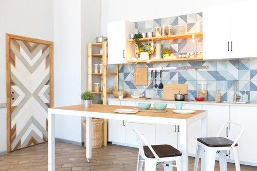 Mobili per ufficio in cucina
