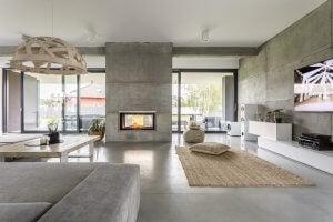 casa in cemento