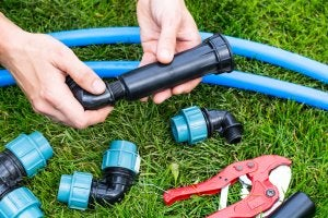 componenti dei sistemi di irrigazione automatica