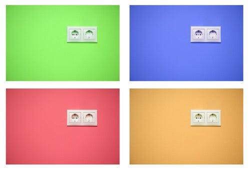 Alcune idee per decorare le prese elettriche
