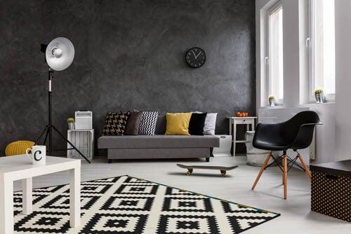 8 consigli per decorare in nero l'appartamento