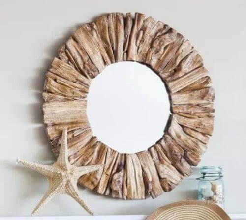 Specchio driftwood