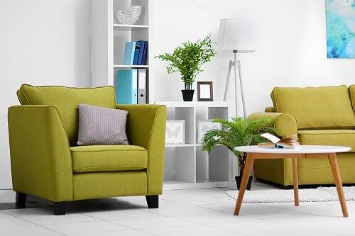 divano verde oliva