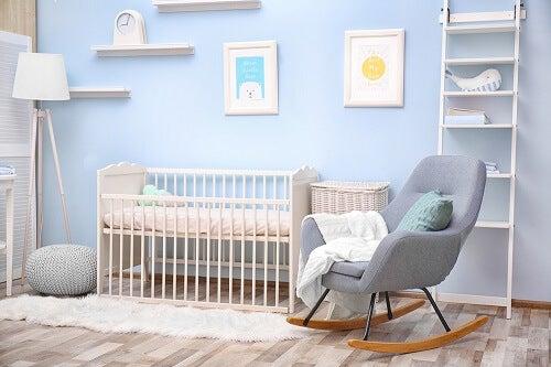 stanza per bebè