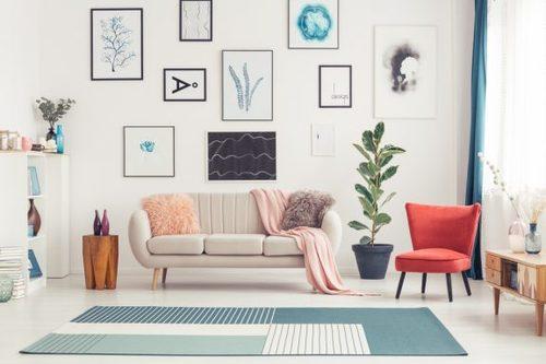I tappeti colorati per dare un tocco originale ai vostri spazi