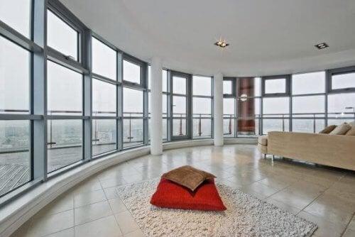 Integrare la terrazza nella casa per avere più spazio