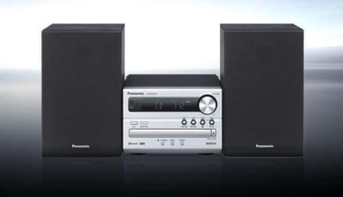 Uno degli impianti Hi-Fi della Panasonic