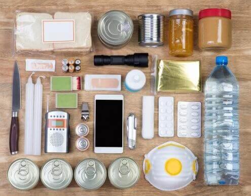 Cosa deve contenere un kit per il terremoto