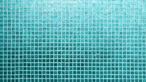piastrelle per bagno di colore turchese
