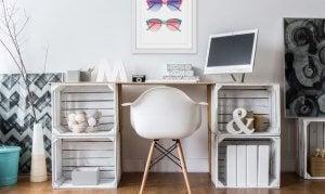 Una scrivania molto chic