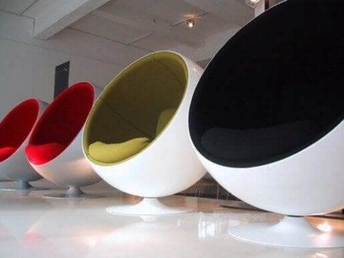 La sedia Ball Chair: innovazione e avanguardia