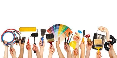 La partecipazione attiva di tutta la famiglia nella decorazione della casa