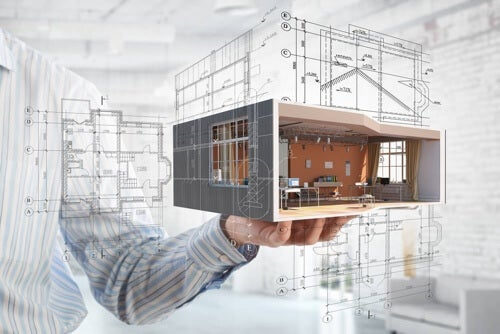 Progetto per guadagnare spazio in casa