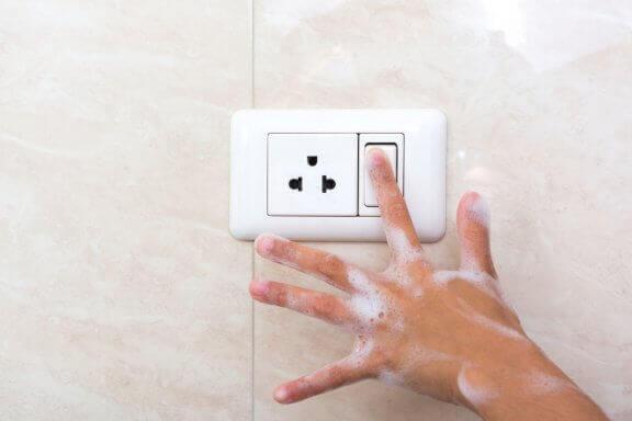 Impianto elettrico in bagno