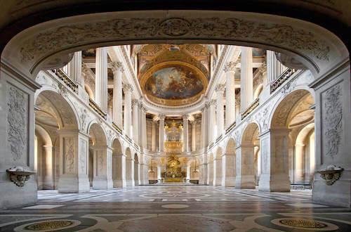Stile Versailles: un arredamento elegante