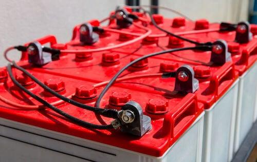 Batterie per immagazzinare energia