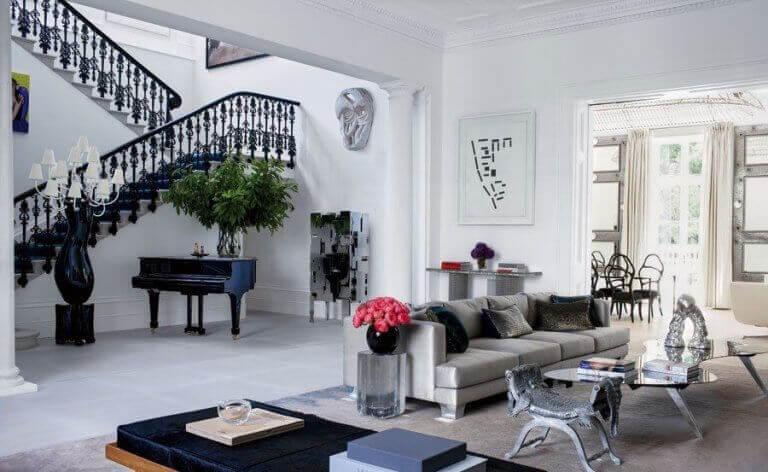 La casa come una galleria d'arte