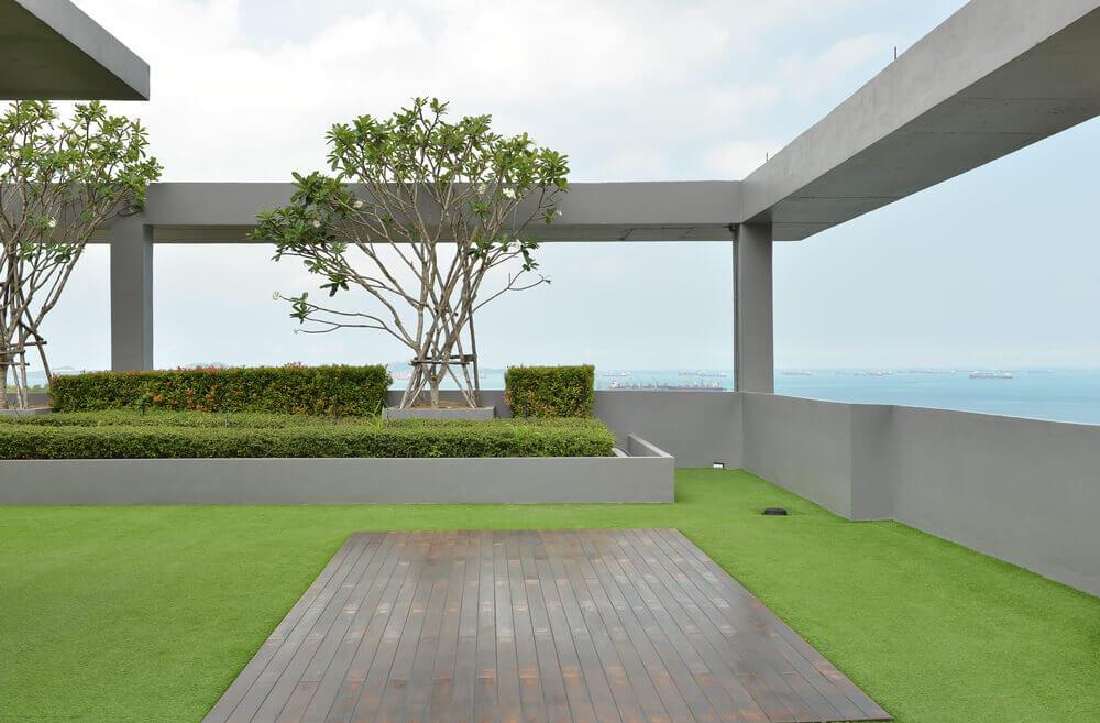 Manutenzione dei giardini sui tetti