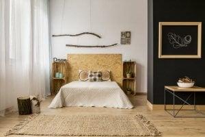 L'uso dei tappeti in stuoia nelle camere da letto