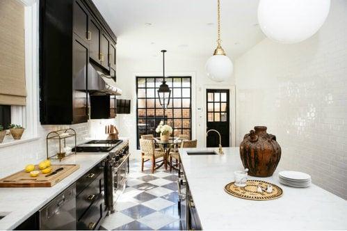 Cucina elegante e originale