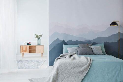 Come abbinare le tonalità del grigio e del blu