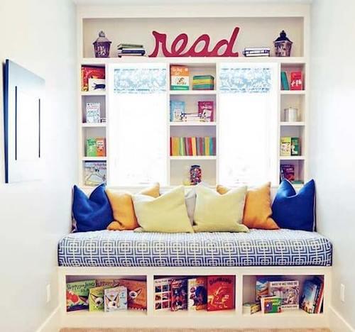 Costruire una biblioteca a casa per i bambini