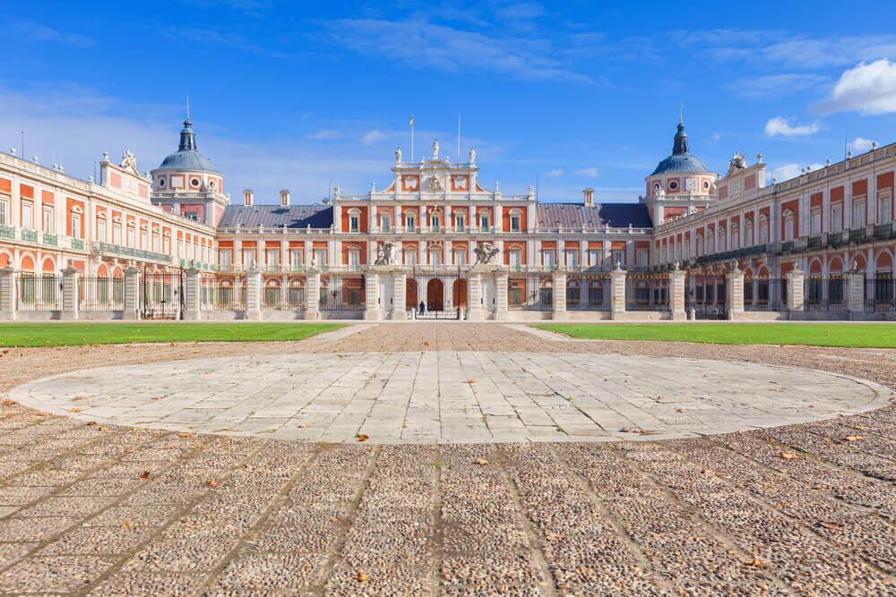 Storia del palazzo di Aranjuez.