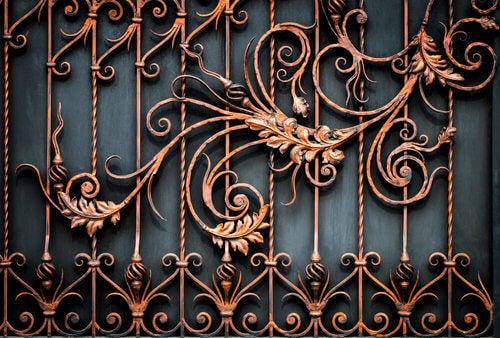 Le ringhiere in ferro battuto per la vostra scala