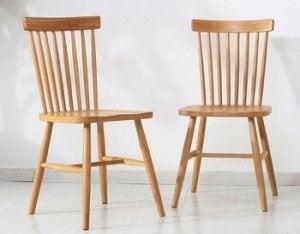 Due sedie Windsor