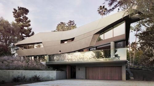 Hollywood hills house