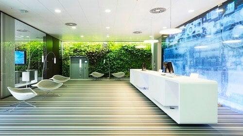 Lo stranissimo arredamento degli uffici Microsoft a Vienna