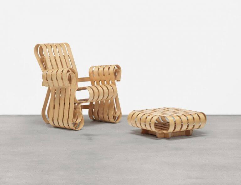 Sedia Power Play di Frank Gehry