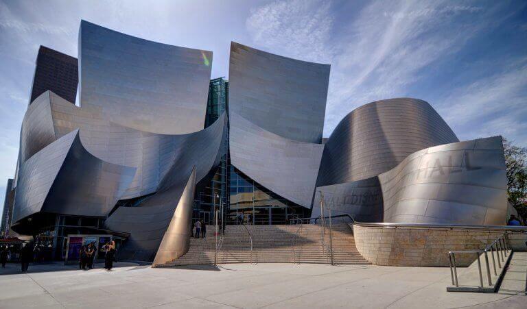 Walt Disney Concert Hall di Frank Gehry