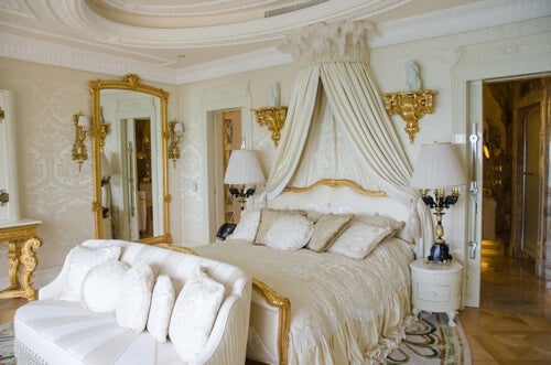 Camera da letto vittoriana