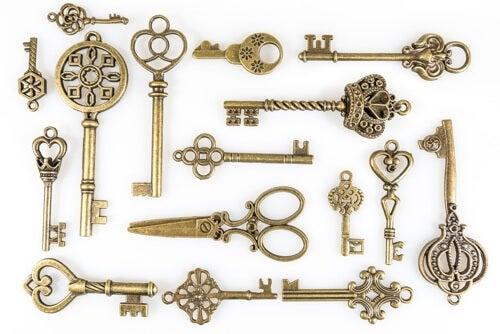 Collezione di chiavi