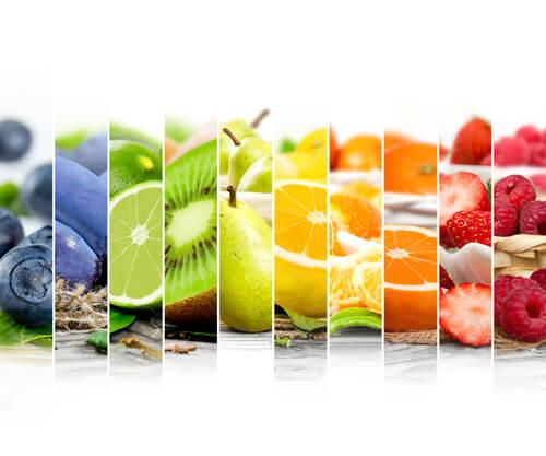 idee per decorare i vassoi con la frutta