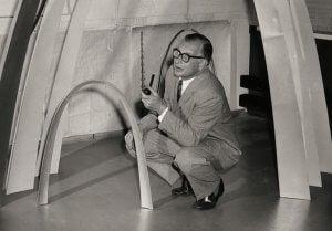 Il famoso interior designer Eero Saarinen